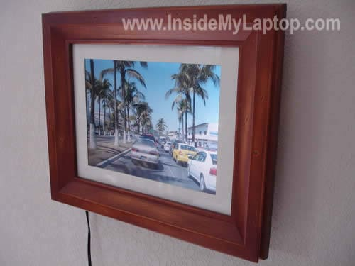 Digital picture photo frame