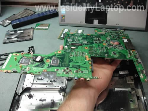 Remove motherboard