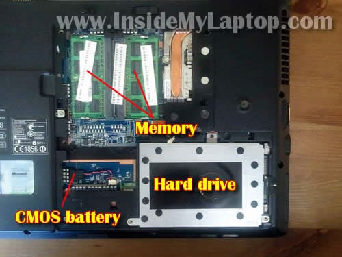 How to disassemble Acer Aspire 4810T 4810TZ 4410 – Inside my