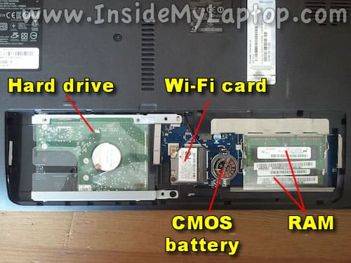 Access hard drive and RAM