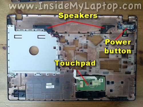 Access touchpad