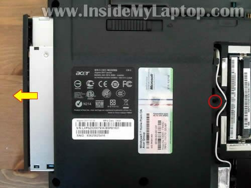 how to open dvd on acer laptop