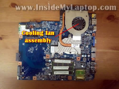 How to disassemble Acer Aspire 5740/5340 – Inside my laptop
