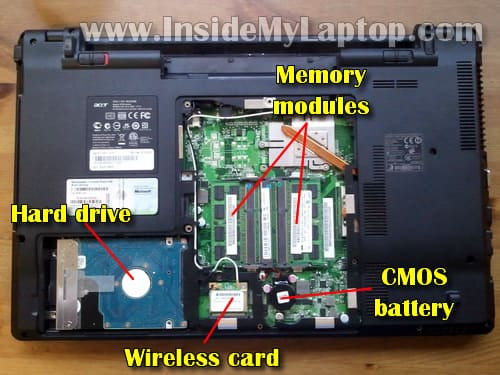 acer aspire 5315 memory upgrade instructions