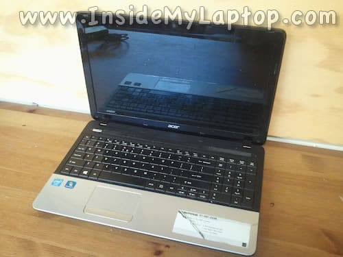 Acer Asprire E1-531-2438 disassembly