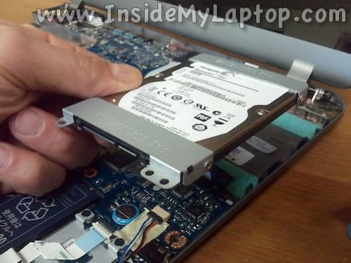 Remove HDD assembly