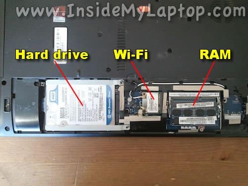Hard drive and memory