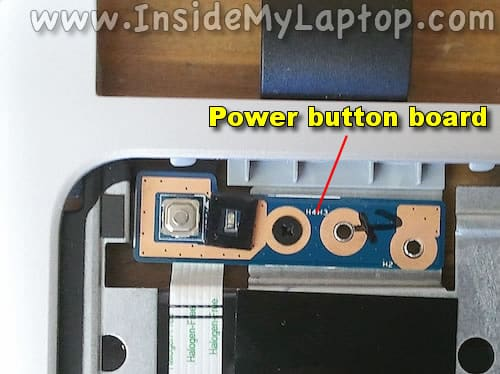 Power button board