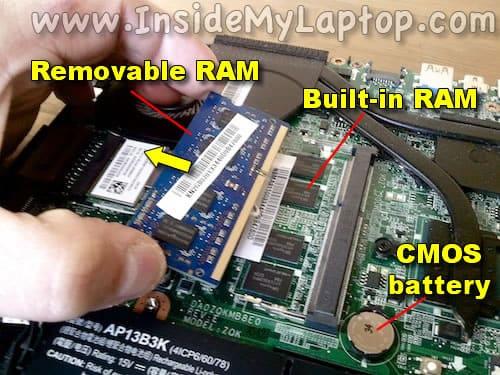 Remove RAM