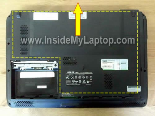 How to disassemble asus k series inside my laptop under greentooth Images