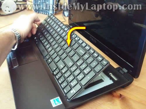 Ремонт клавиатуры ноутбука asus своими руками