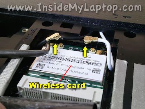 Disconnect wi-fi antennas