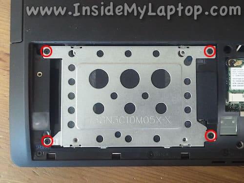 Hard drive screws