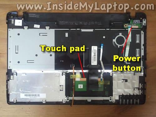 Power button board