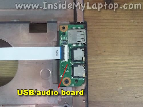 USB audio board