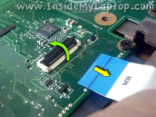 Unplug USB audio cable