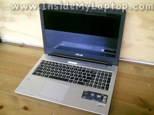 Asus S56C laptop disassembly