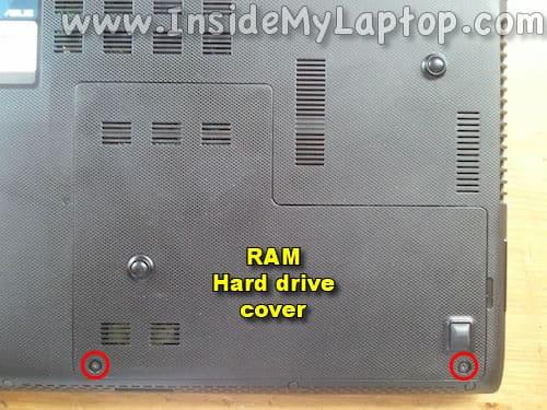 RAM Hard drive cover
