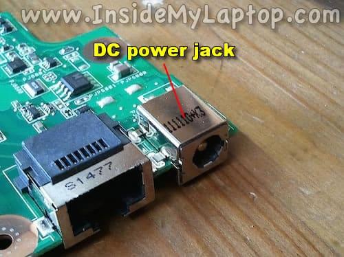 DC power jack