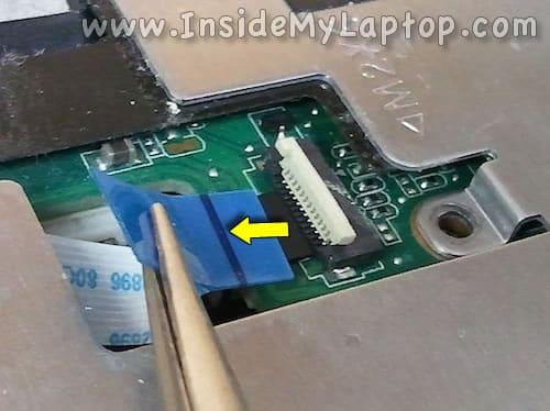 Unlock top connector