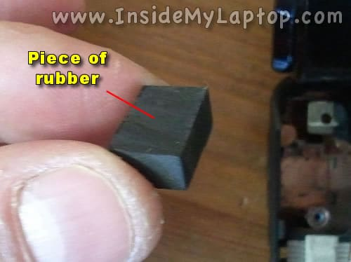 Piece of rubber