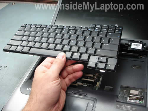 Remove and replace keyboard