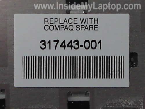 Keyboard part number