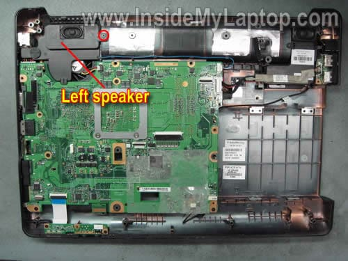 how to disassemble compaq presario cq50 cq60 cq70 inside my laptop step 17