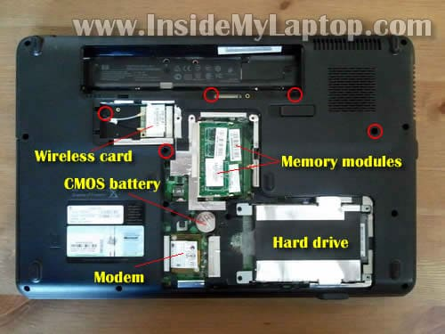 how to replace keyboard on compaq presario cq61 or hp g61 inside rh insidemylaptop com