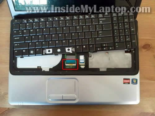 How To Replace Keyboard On Compaq Presario Cq61 Or Hp G61