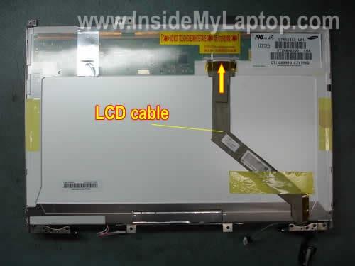 Taking Apart Display On Compaq Presario F700 Inside My