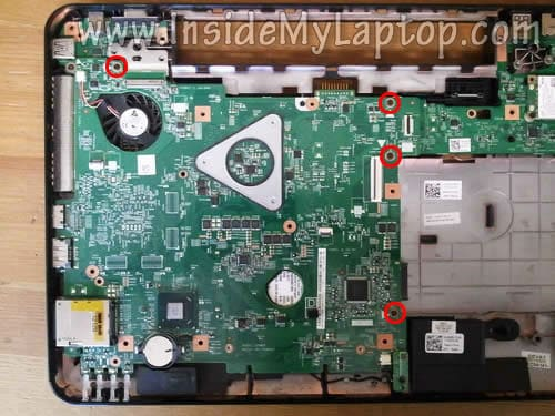 How to disassemble Dell Inspiron N5110 (Inspiron 15R) – Inside my laptop