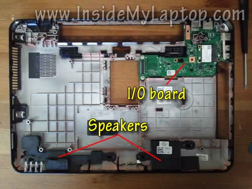 How to disassemble Dell Inspiron N5110 (Inspiron 15R