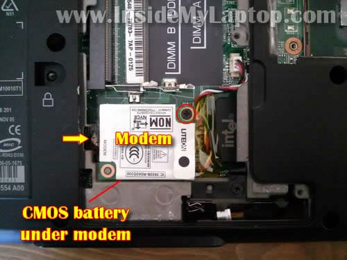 How to disassemble Dell Inspiron 1420 or Vostro 1400