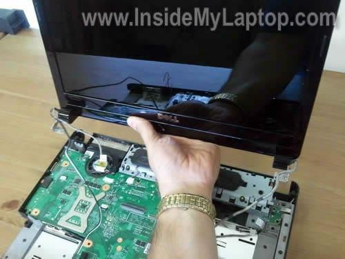 Guia para desarmar Laptop DELL Inspiron 1440
