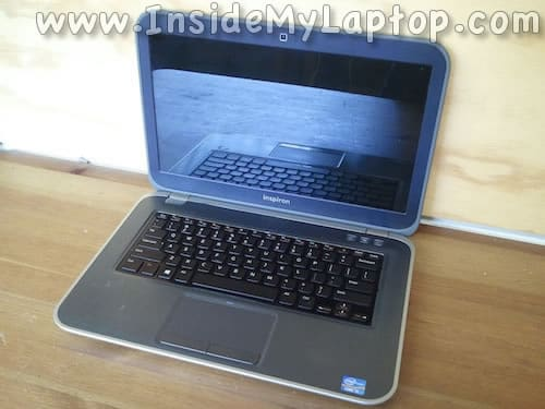 Dell Inspiron 14z-5423 disassembly