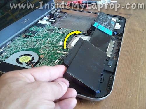 Remove main battery