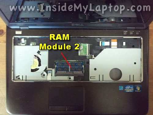 Access second RAM module