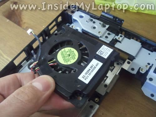 Remove and replace fan