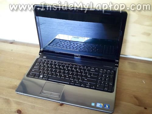 Dell Inspiron 1564 disassembly