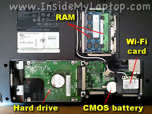HDD RAM CMOS battery