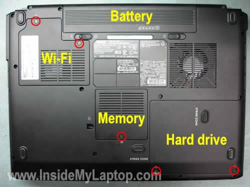 Remove memory wi-fi hard drive covers