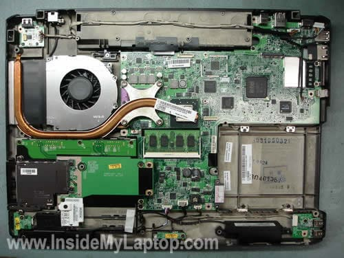 How to take apart Dell Inspiron 1720 Vostro 1700 – Inside my