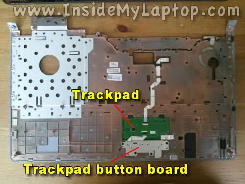 Laptop trackpad