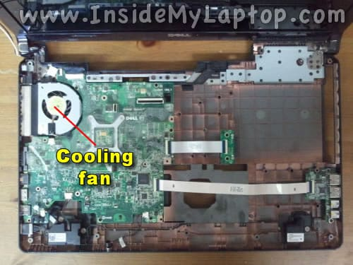 Access cooling fan