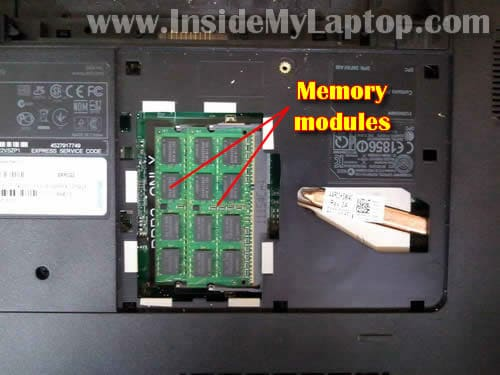 How to disassemble Dell Inspiron 17R N7110 – Inside my laptop