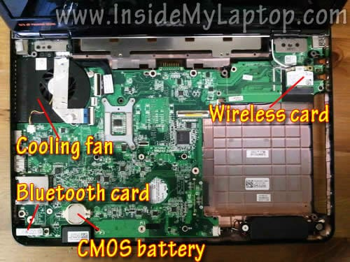 How To Disassemble Dell Inspiron N4010 Removing Hard
