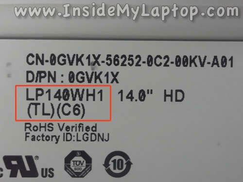 how to find my laptop screen size