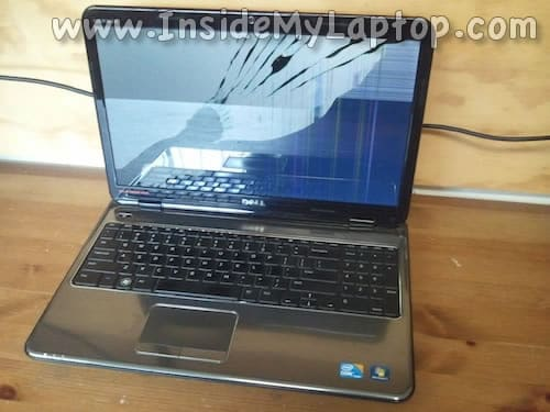 Cracked screen on Dell Inspiron N5010