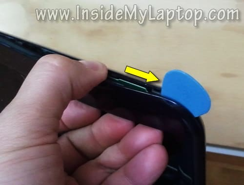 how to open dell inspiron n5110